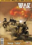 "WWII Willys Jeep ""SAS"" Card Model Scale 1/25 WAK 9/14 - Paper Models / Lasercut"