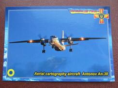 Ukraine.Aerial Cartography Aircraft Antonov An-30 Modern PC - 1946-....: Modern Era