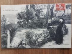 Douarnenez.sur La Route De La Plage Du Ris.édition Plouhinec 19 - Douarnenez