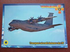 Ukraine.Transport Aircraft Antonov An-70 Modern PC - 1946-....: Moderne