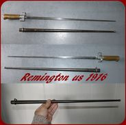 Baîonnette Us Remington   1916  (   Comme La Lebel  ) - Armes Blanches