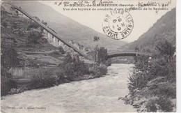 SAINT-MICHEL-de-MAURIENNE - La Rivière L'Arc - Vu Des Tuyaux De Conduite D'eaux De L'usine De La Saussaz - Saint Michel De Maurienne