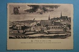 L'Abbaye De Lobbes En 1740 - Lobbes