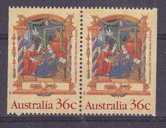 Australia 1989 Christmas 2v From Booklet  ** Mnh (37098D) - 1980-89 Elizabeth II