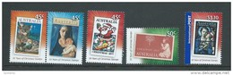 Australia 2007 Christmas Set 5 MNH - Stamp On Stamp - Nuovi