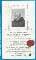 Relic   Reliquia    St. Valentinus Paquay - Images Religieuses