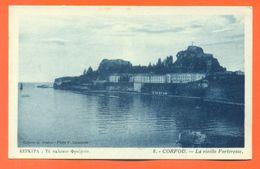 "CPA Grèce Corfou "" La Vieille Forteresse "" LJCP 52 - Grèce"