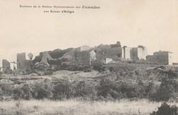 CPA 30 ALLEGRE CHATEAU EN RUINE Environs DES FUMADES - Francia
