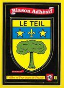LE TEIL Rare Blason Adhésif (Kroma N°287) Ardèche (07) - Le Teil