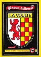LA VOULTE Rare Blason Adhésif (Kroma N°283) Ardèche (07) - La Voulte-sur-Rhône