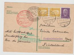 W-L073 / Luftschiff Graf Zeppelin,  Südamerikafahrt Mit Anschlussflug Berlin - Deutschland