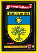 BEAULIEU Sur MER Blason Adhésif (Kroma N°541) Alpes Maritimes (06) - Beaulieu-sur-Mer