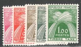 France Yvert Taxe 90/94 TB Sans Charnière Cote E 70 (numéro Du Lot 331AA) - 1859-1955 Neufs