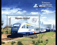 Romania 2004 High Speed Trains MNH - Blocs-feuillets