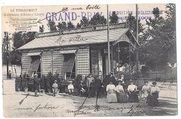 """MARSEILLE - """"Le Fibrociment"""" Sté Cle De Port St-Louis Du Rhône - 1, Place Sadi Carnot (Gd Prix D'Electricité 1908) - Exposition D'Electricité Et Autres"""