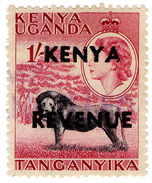 (I.B) KUT Revenue : Kenya Duty 1/- - Kenya, Uganda & Tanganyika