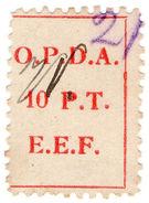 (I.B) Palestine Revenue : Ottoman Public Debt 10PT (OPDA) - Palestine