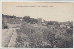 13   Marseille La Gavotte  L Eglise Et L Entree Du Village - Otros
