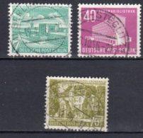 Berlin   121 - 123  Gestempelt - Gebraucht
