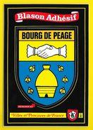 BOURG DE PEAGE Rare Blason Adhésif (Kroma N° 261) Drôme (26) - France