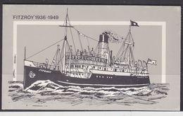 "Falkland Islands 1978 Ship ""Fairy "" Booklet ** Mnh (37100) - Falklandeilanden"