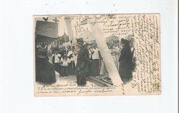 S M EL REY PONIENDO LA PRIMERA PIEDRA DE LOS GRUPOS ESCOLARES (1)  1902 - Ohne Zuordnung