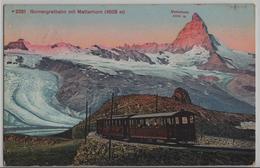 Zermatt - Gornergrat - Hotel Gindraux Grand Hotel Beau-Site, Zermatt - VS Wallis