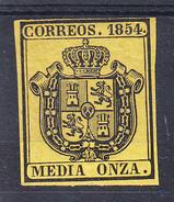 ESPAÑA 1984. SERVICIO OFICIAL. MEDIA ONZA    EDIFIL Nº 28  NUEVOS SIN  CHARNELA  CECI 2 Nº 128 - Unused Stamps