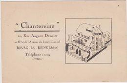 "CARTE POSTALE   BOURG LA REINE 92  ""Chantereine"" 10 Rue Auguste Demeler - Bourg La Reine"