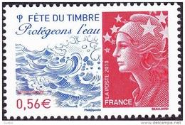 France Philatélie N° 4439 ** Fête Du Timbre 2010 Protégeons L'eau - Marianne De Beaujard - Tag Der Briefmarke