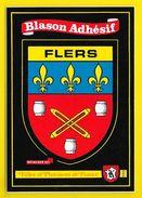FLERS Rare Blason Adhésif (Kroma N° 593) Orne (61) - Flers