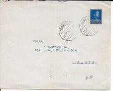 ALBANIE - 1934 - ENVELOPPE De DURRES => PARIS - Albanie