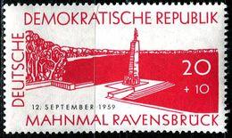 DDR - Mi 720 - ** Postfrisch (A) - 20+10Pf  Einweihung Gedenkstätte Ravensbrück - DDR