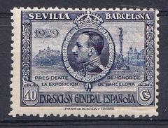 ESPAÑA 1929.EXPO SEVILLA BARCELONA   EDIFIL Nº 442. 40  CENT NUEVOS SIN  CHARNELA  CECI 2 Nº 128 - 1889-1931 Königreich: Alphonse XIII.