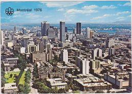 Amérique,CANADA,QUEBEC,MONTREAL,LOGO DES JEUX OLYMPIQUES - Montreal
