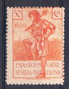 ESPAÑA 1929.EXPO SEVILLA BARCELONA   EDIFIL Nº 443. 50  CENT NUEVOS SIN  CHARNELA  CECI 2 Nº 128 - 1889-1931 Reino: Alfonso XIII