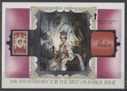 Belize 1986 Minerals Minéraux Diamond Diamant Cullinan Queen Elisabeth II Ov Word Cup FOOBALL MEXICO 86 - Minerals