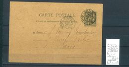 Lettres Ambulant  Paris à Orléans Rapide - Indice 14 - Postmark Collection (Covers)