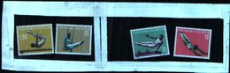 86429) Liechtenstein-1957-soggetti Sportivi-ginnastica-serie Completa-MNH**-n.315/18 - Liechtenstein