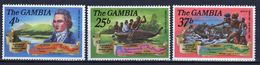 Gambia Set Of Stamps To Celebrate Bi-Centenary Of The Birth Of Mungo Park From 1971. - Gambia (1965-...)
