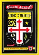 BOURG SAINT MAURICE Blason Adhésif (Kroma N° 542) Savoie (73) - Bourg Saint Maurice