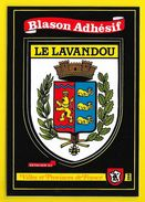 LE LAVANDOU Blason Adhésif (Kroma N° 289) Var (83) - Le Lavandou