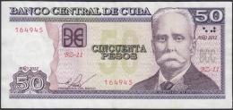 2012-BK-25 CUBA 2012 50$ CALIXTO GARCIA. REEMPLAZO REPLACEMENT. XF. SERIE BZ. - Cuba