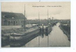 Rousbrugge - Haringhe ( Roesbrugge) : L'Yser Vue Prise Du Pont ( Péniche ) - Poperinge