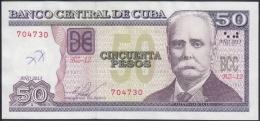 2013-BK-40 CUBA 2013 50$ CALIXTO GARCIA. REEMPLAZO REPLACEMENT. XF. SERIE BZ. - Cuba