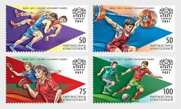 Kirgizië / Kyrgyzstan - Postfris / MNH - Complete Set 4e Islamitische Spelen 2017 - Kirgizië