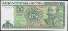 2016-BK-30 CUBA 2015 5$ ANTONIO MACEO. REEMPLAZO REPLACEMENT UNC. SERIE EZ. - Cuba
