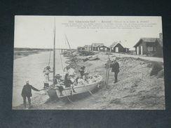 ARVERT / ARDT LA TREMBLADE / MARENNES   1905 /  METIER OSTREICULTEUR / PROMENADE DANS LES PARCS EN BATEAU   EDIT - Altri Comuni