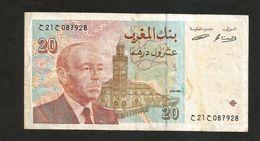 MAROCCO / MAROC - BANK AL - MAGHRIB - 20 DIRHAMS (1996) - Marocco
