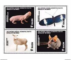 Nevis 2017 Animals & Fauna - Postzegels